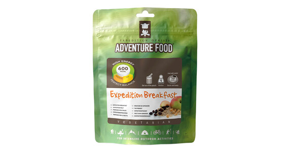 Adventure Food Expeditionsfrühstück Einzelportion
